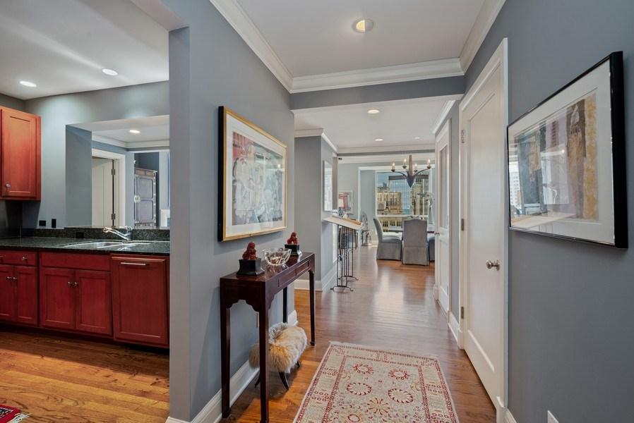 Real Estate Photography - 270 E Pearson, Apt 1102, Chicago, IL, 60611 - Foyer
