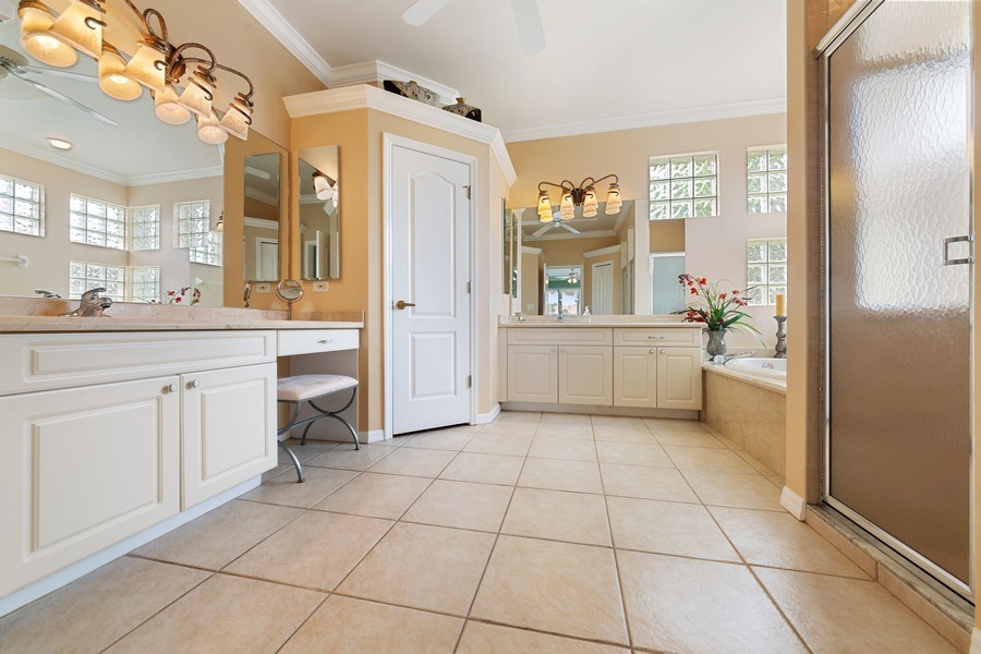 Real Estate Photography - 7957 Gator Palm Dr, Fort Myers, FL, 33966 - Master Bathroom