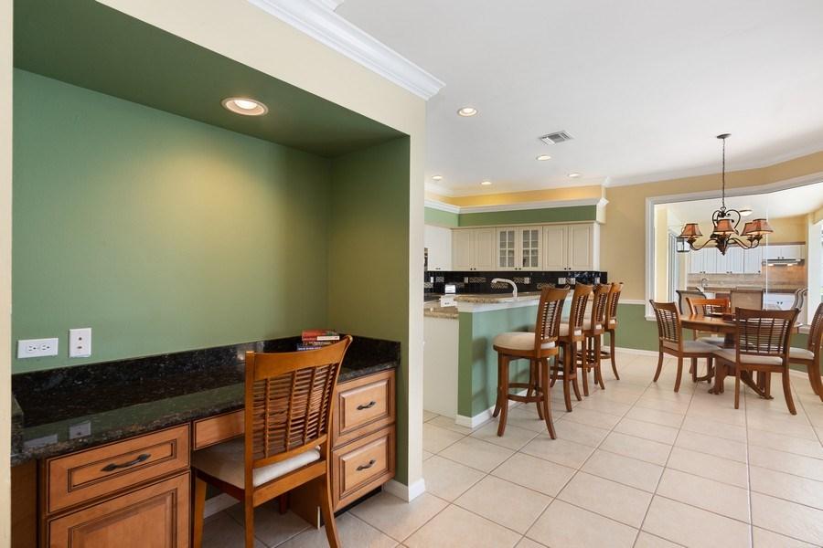 Real Estate Photography - 7957 Gator Palm Dr, Fort Myers, FL, 33966 - Kitchen Desk