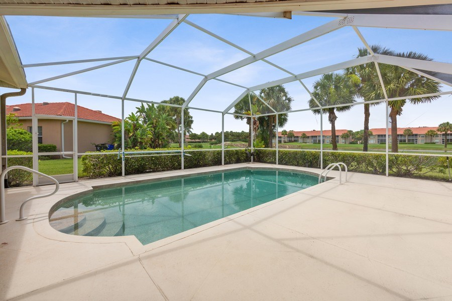 Real Estate Photography - 7957 Gator Palm Dr, Fort Myers, FL, 33966 - Pool