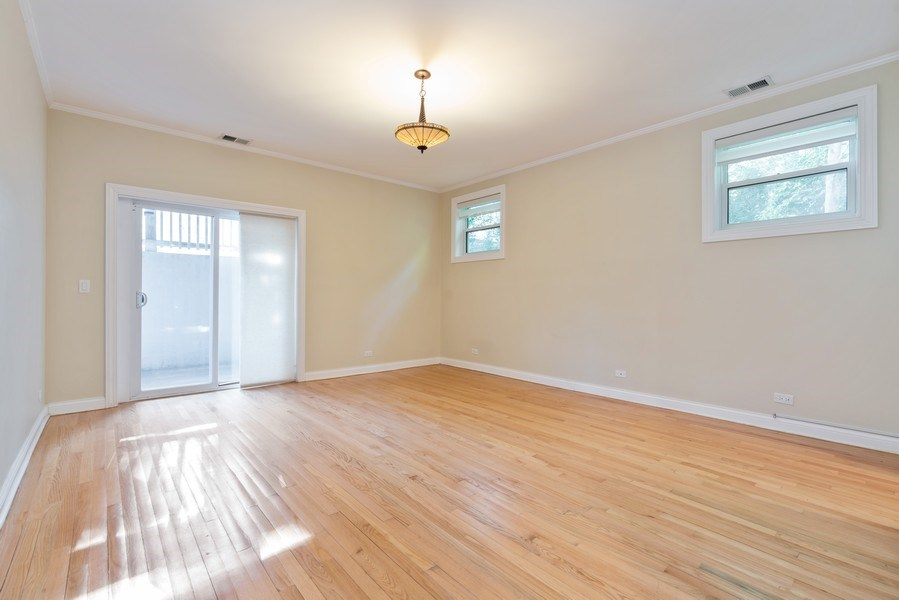 Real Estate Photography - 5482 S Woodlawn Ave, Chicago, IL, 60615 - Master Bedroom