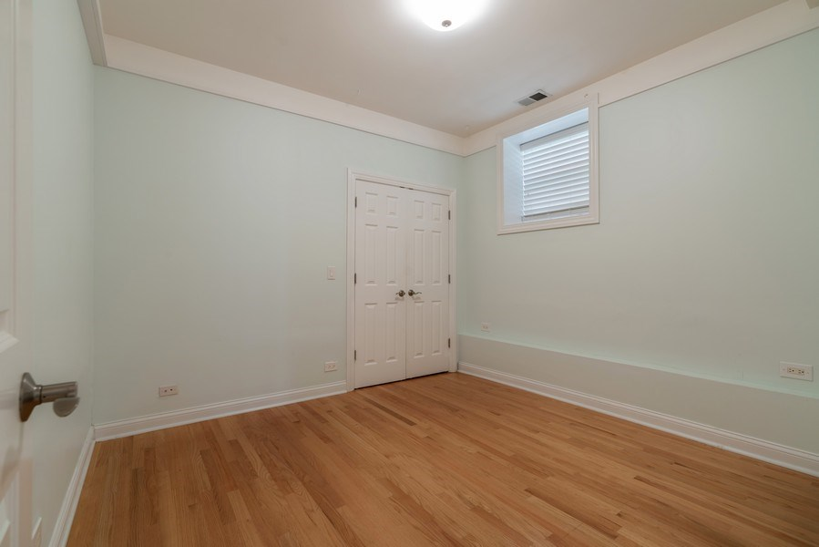 Real Estate Photography - 5482 S Woodlawn Ave, Chicago, IL, 60615 - 3rd Bedroom