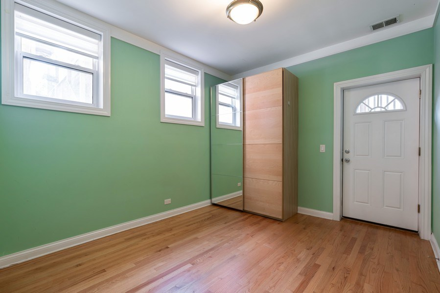 Real Estate Photography - 5482 S Woodlawn Ave, Chicago, IL, 60615 - 4th Bedroom