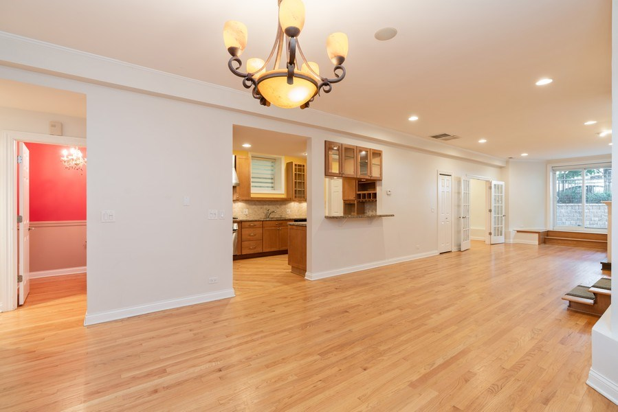 Real Estate Photography - 5482 S Woodlawn Ave, Chicago, IL, 60615 - Dining Room