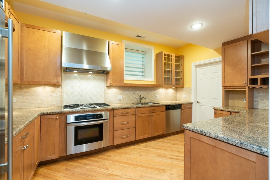 Real Estate Photography - 5482 S Woodlawn Ave, Chicago, IL, 60615 - Kitchen