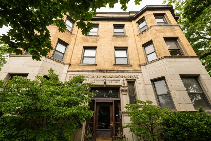 Real Estate Photography - 1712 W Wilson Ave, Unit 3E, Chicago, IL, 60640 - Front View