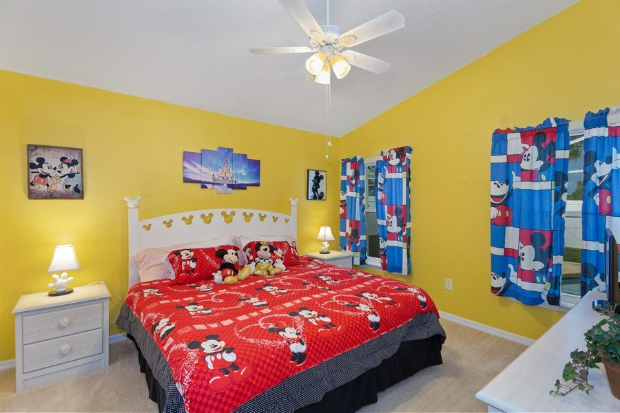 Real Estate Photography - 17409 Silver Creek Ct, Clermont, FL, 34747 - Master Bedroom