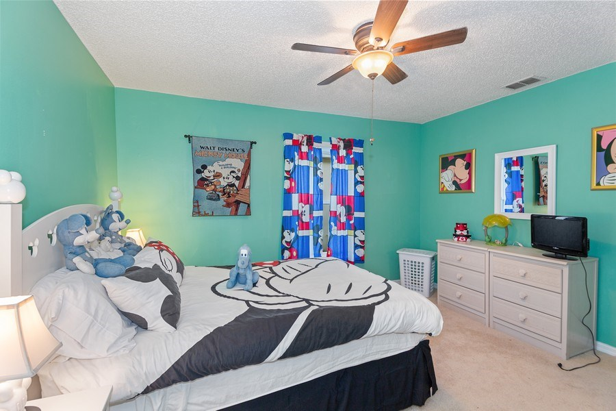 Real Estate Photography - 17409 Silver Creek Ct, Clermont, FL, 34747 - 4th Bedroom