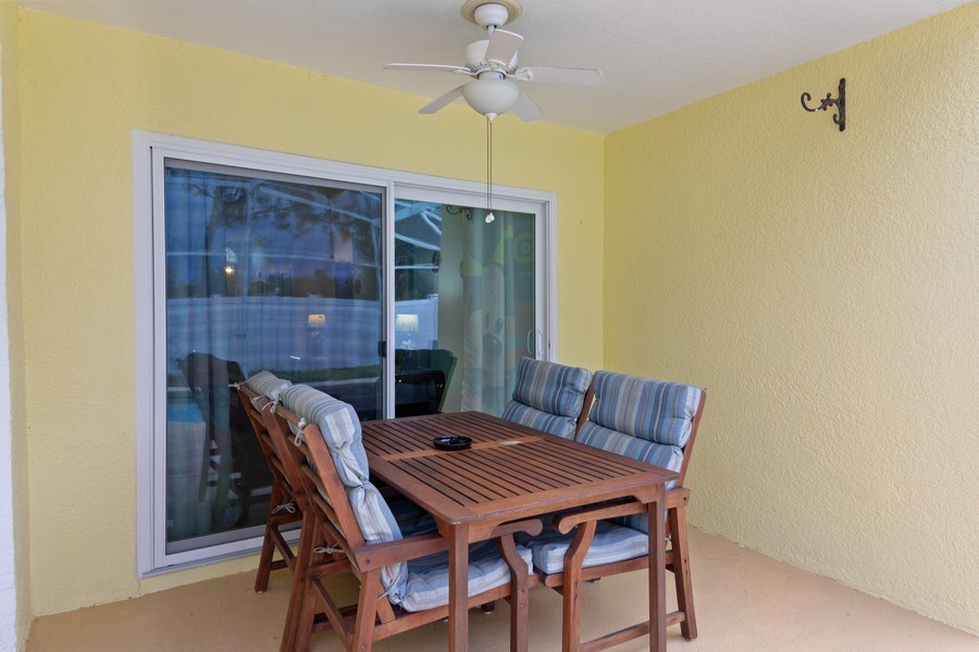Real Estate Photography - 17409 Silver Creek Ct, Clermont, FL, 34747 - Patio