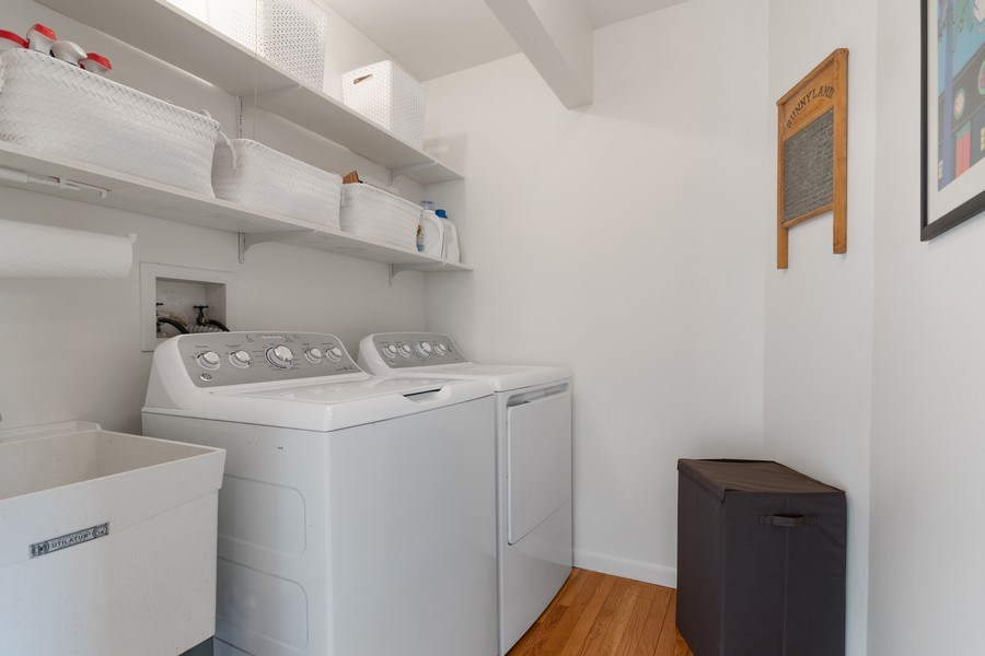 Real Estate Photography - 1810 N Dale Ave, Arlington Heights, IL, 60004 - Laundry Room