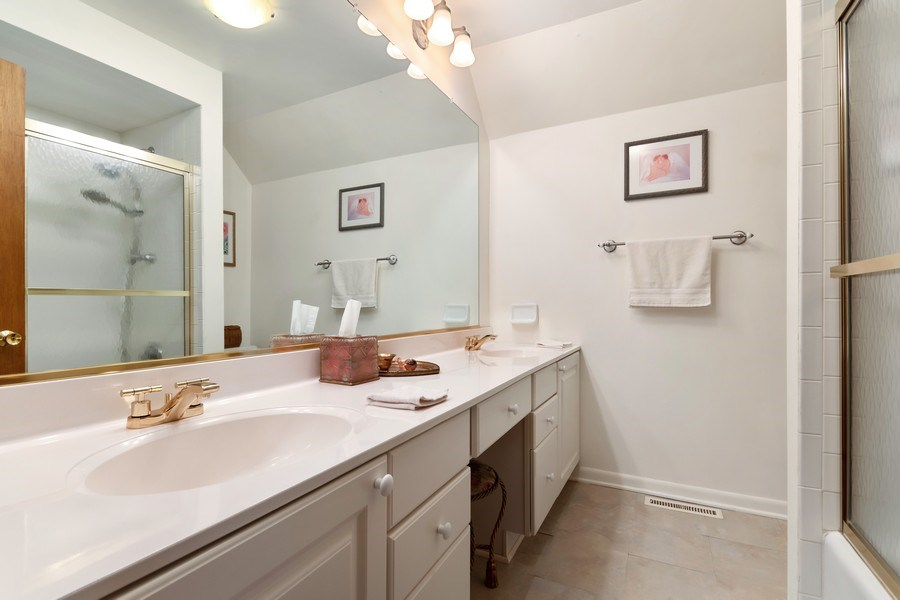 Real Estate Photography - 1810 N Dale Ave, Arlington Heights, IL, 60004 - 2nd Bathroom