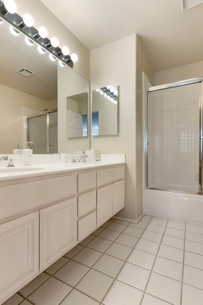 Real Estate Photography - 10 Stoney Point, Laguna Niguel, CA, 92677 - Bathroom with Dual Vanity