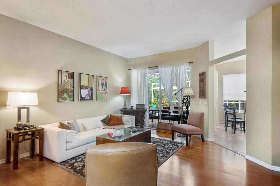 Real Estate Photography - 10417 Greenhedges Dr, Tampa, FL, 33626 - Living Room