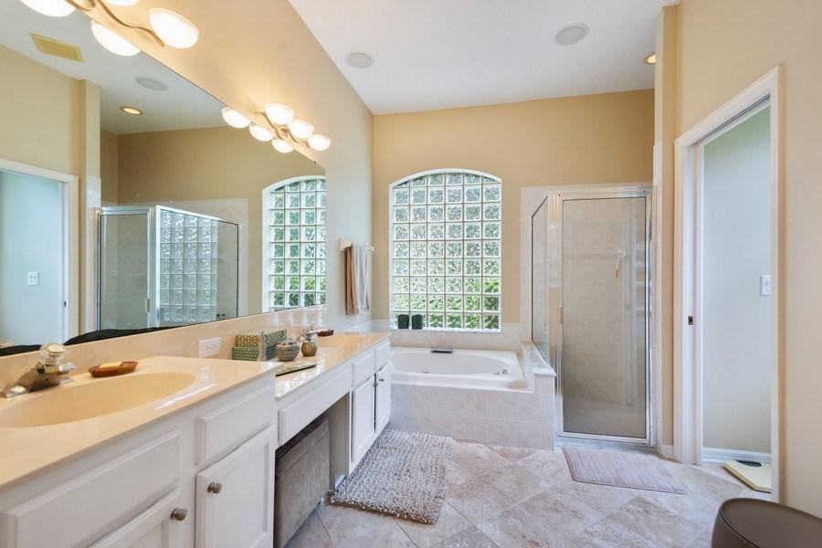 Real Estate Photography - 10417 Greenhedges Dr, Tampa, FL, 33626 - Master Bathroom