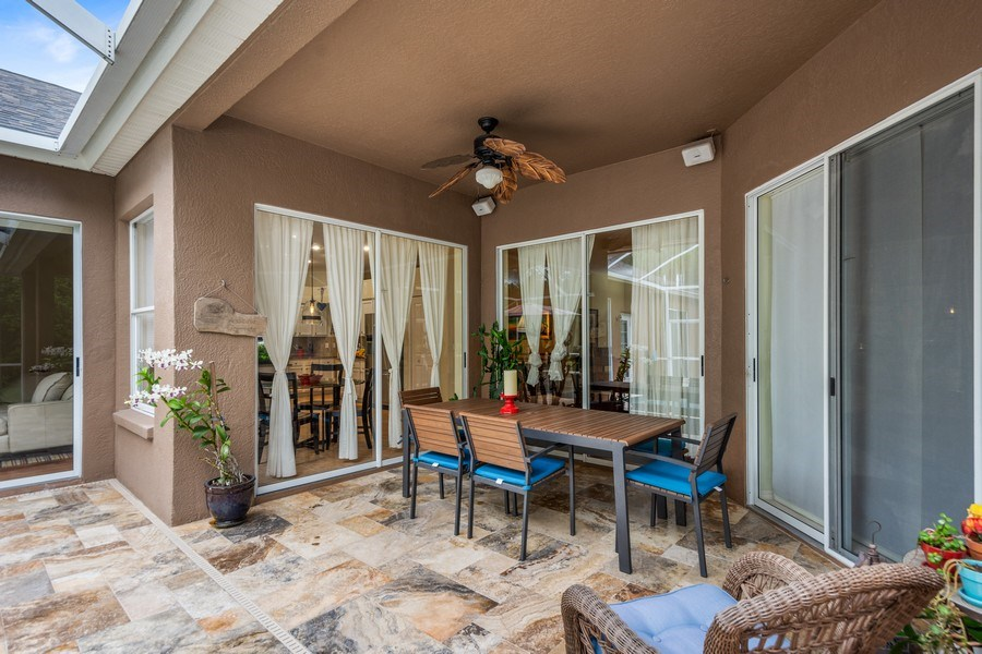 Real Estate Photography - 10417 Greenhedges Dr, Tampa, FL, 33626 - Patio