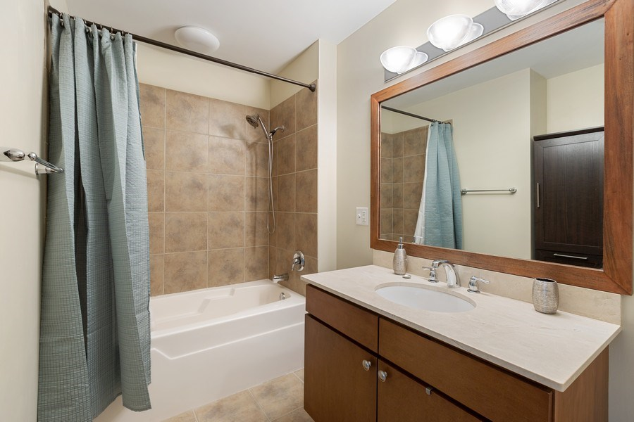 Real Estate Photography - 757 N Orleans, Unit 1303, Chicago, IL, 60654 - Bathroom