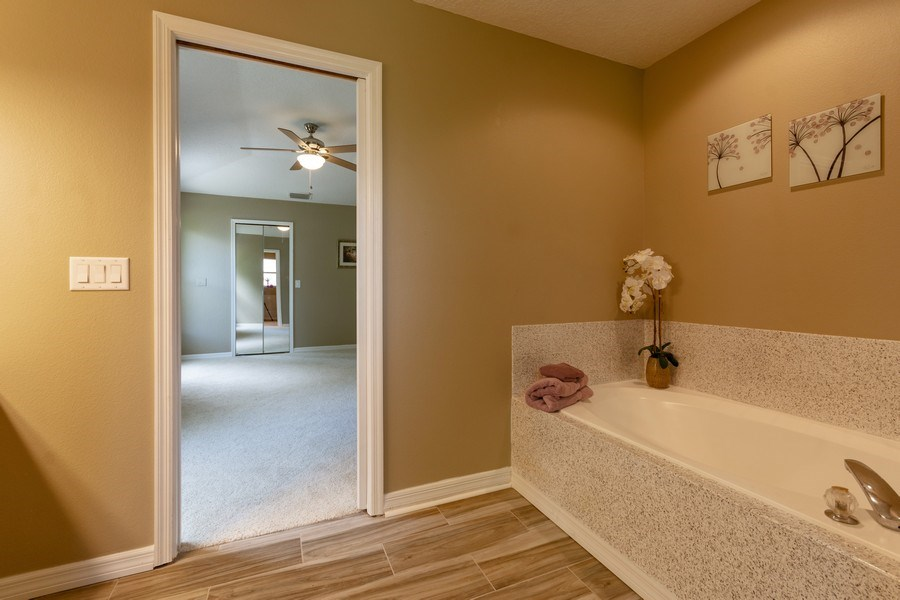 Real Estate Photography - 832 Parkwood Ave, Titusville, FL, 32796 - Master Bathroom