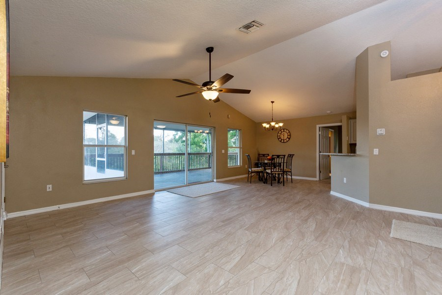 Real Estate Photography - 832 Parkwood Ave, Titusville, FL, 32796 - Family Room