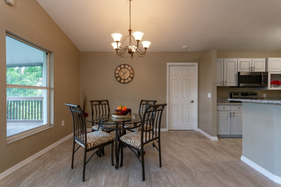Real Estate Photography - 832 Parkwood Ave, Titusville, FL, 32796 - Dining Area