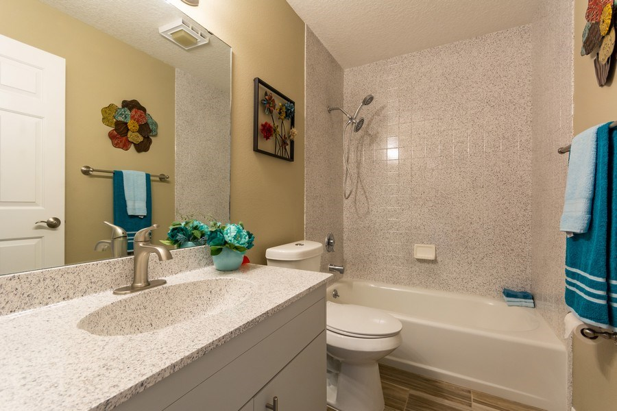 Real Estate Photography - 832 Parkwood Ave, Titusville, FL, 32796 - 2nd Bathroom
