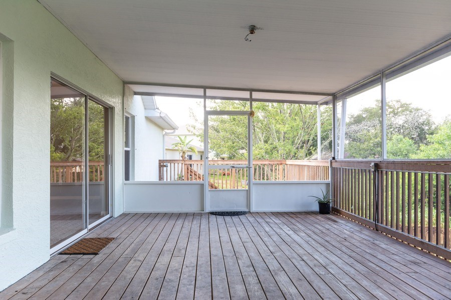 Real Estate Photography - 832 Parkwood Ave, Titusville, FL, 32796 - Sun Room
