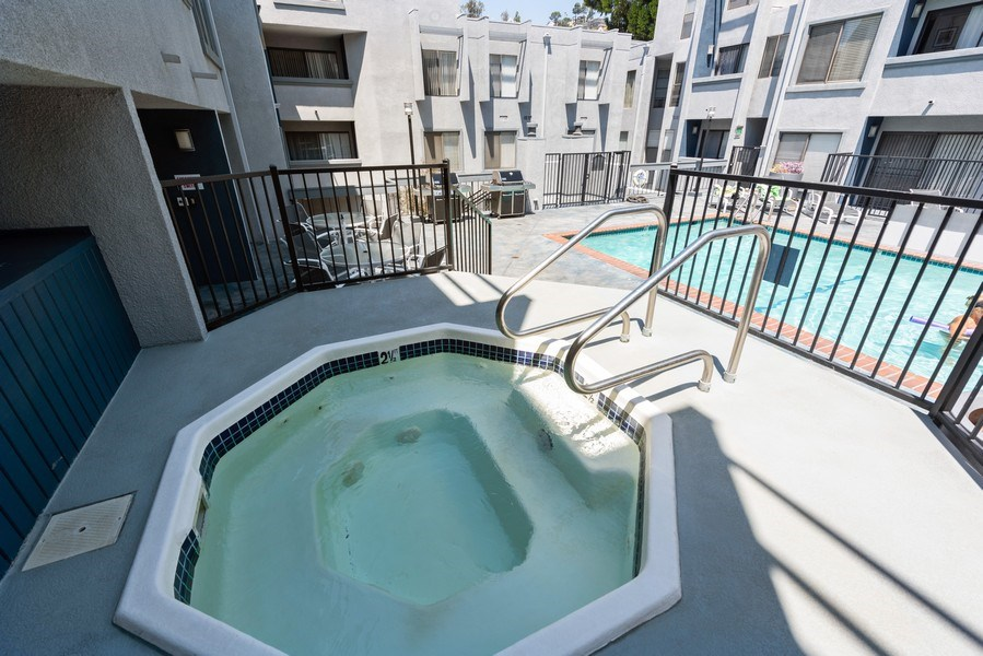 Real Estate Photography - 1940 N Highland Ave., Unit #15, Los Angeles, CA, 90068 - Pool/Spa