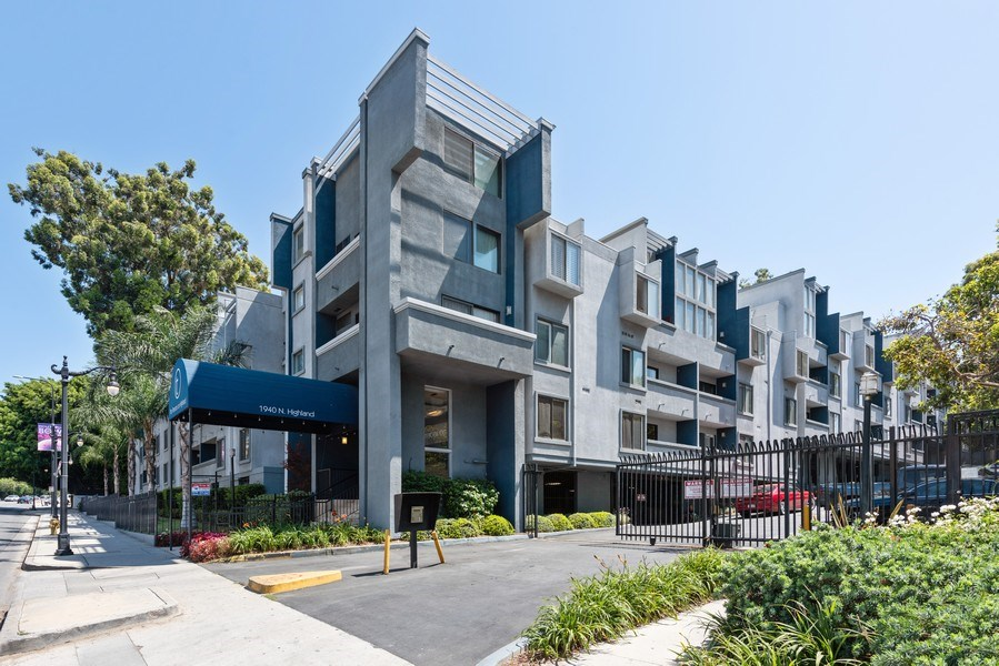 Real Estate Photography - 1940 N Highland Ave., Unit #15, Los Angeles, CA, 90068 - Front View