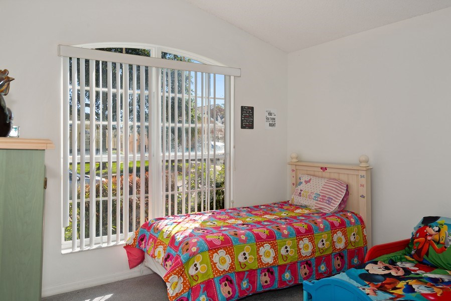 Real Estate Photography - 2508 Oneida Loop, Kissimmee, FL, 34747 - Bedroom