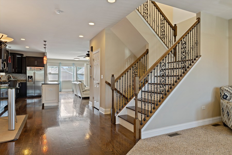 Real Estate Photography - 3538 Elmwood ave, Berwyn, IL, 60402 - Living Room