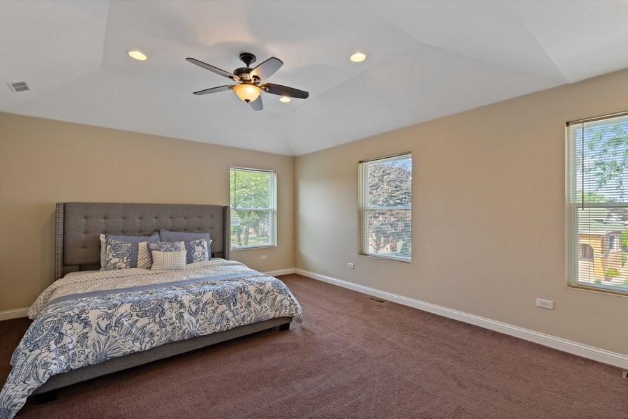 Real Estate Photography - 3538 Elmwood ave, Berwyn, IL, 60402 - Master Bedroom