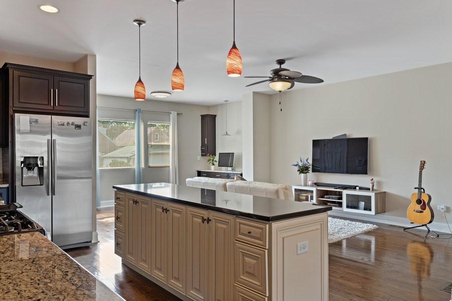 Real Estate Photography - 3538 Elmwood ave, Berwyn, IL, 60402 - Kitchen