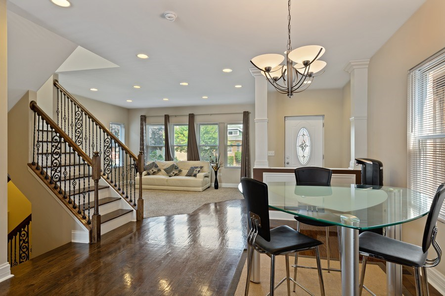 Real Estate Photography - 3538 Elmwood ave, Berwyn, IL, 60402 - Dining Room