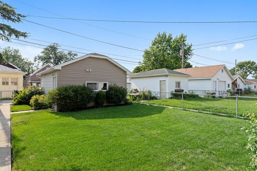Real Estate Photography - 3538 Elmwood ave, Berwyn, IL, 60402 - Back Yard