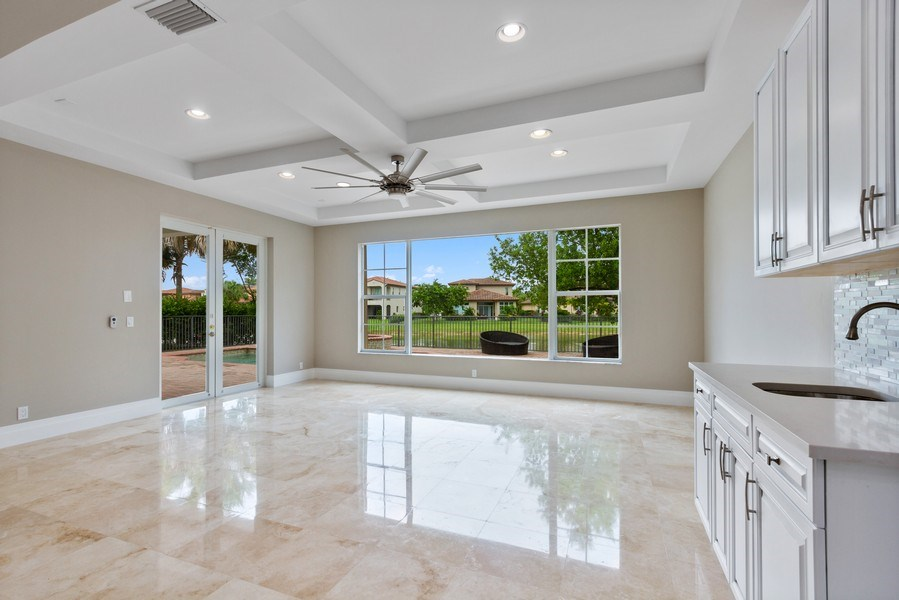 Real Estate Photography - 8146 NW 124th Ter, Parkland, FL, 33076 - Family Room