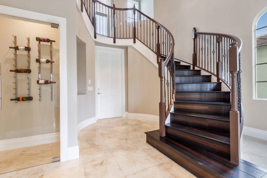 Real Estate Photography - 8146 NW 124th Ter, Parkland, FL, 33076 - Staircase