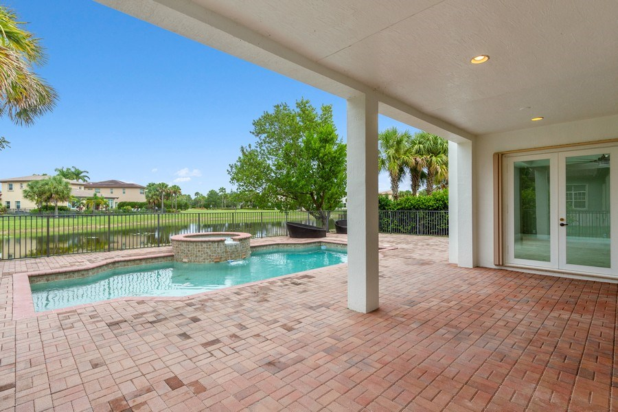 Real Estate Photography - 8146 NW 124th Ter, Parkland, FL, 33076 - Patio