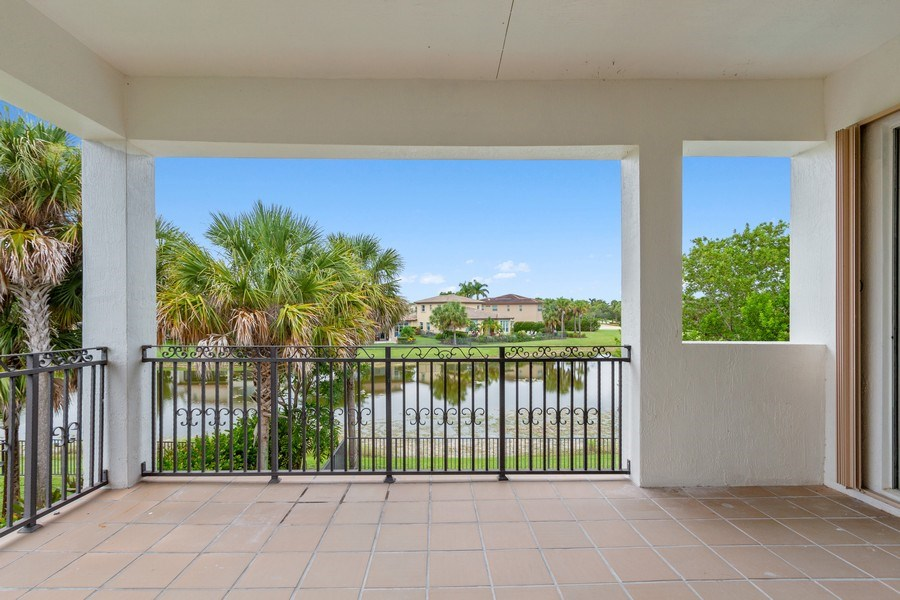 Real Estate Photography - 8146 NW 124th Ter, Parkland, FL, 33076 - Balcony