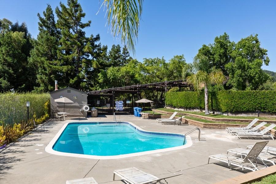 Real Estate Photography - 909 Sycamore Drive, Novato, CA, 94945 - Pool