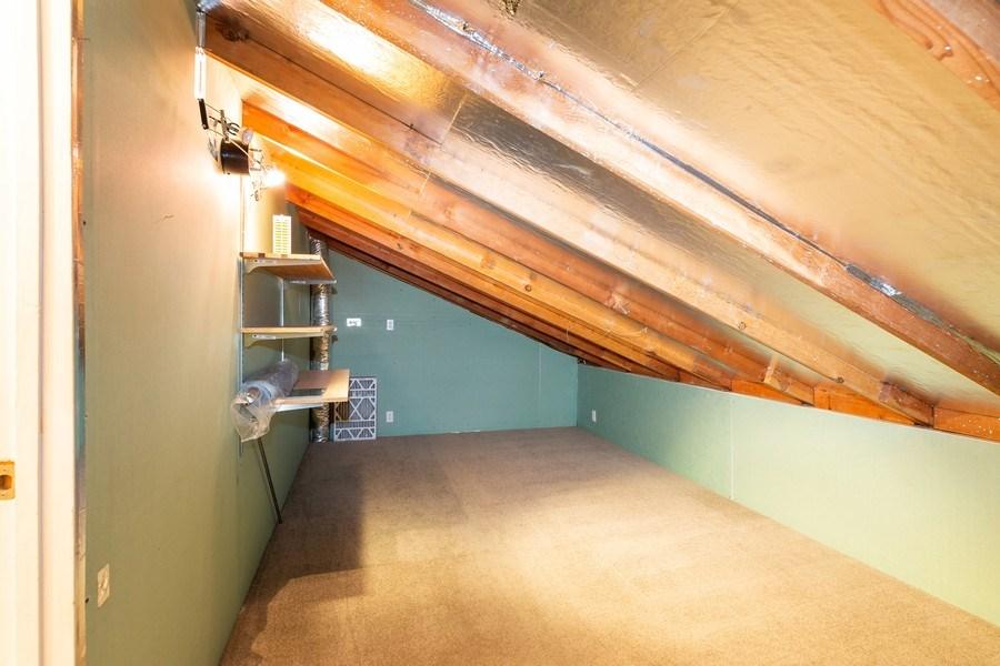 Real Estate Photography - 909 Sycamore Drive, Novato, CA, 94945 - Attic