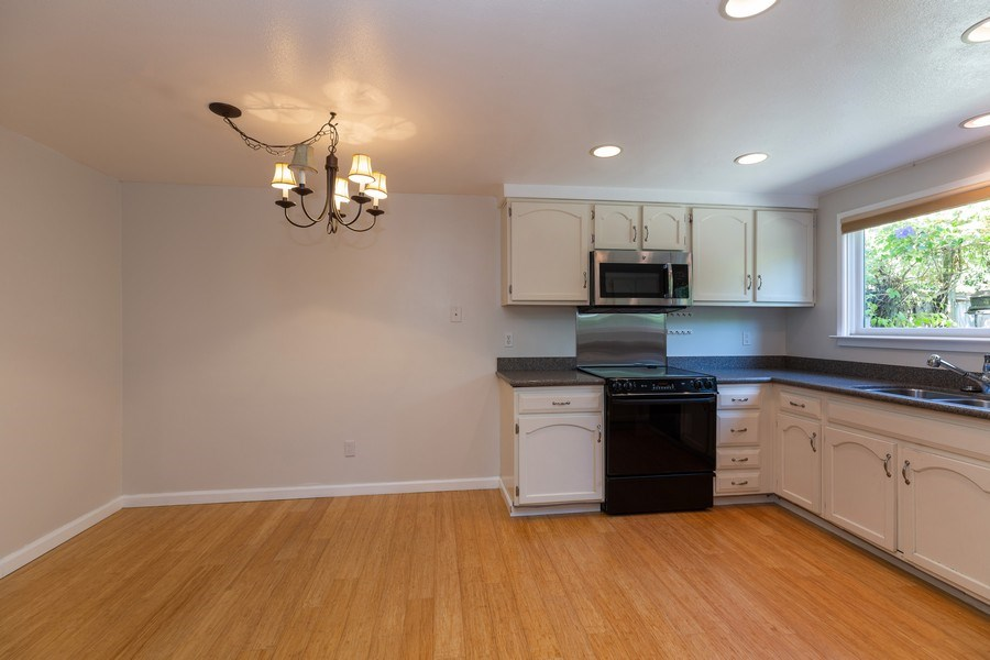 Real Estate Photography - 909 Sycamore Drive, Novato, CA, 94945 - Kitchen / Dining Room