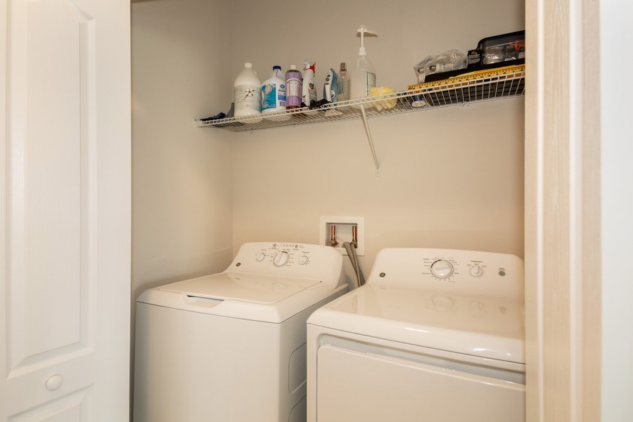 Real Estate Photography - 265 Tanager St, Haines City, FL, 33844 - Laundry Room