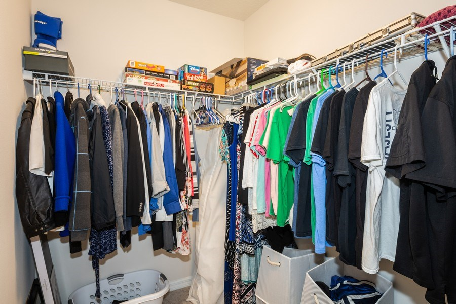 Real Estate Photography - 265 Tanager St, Haines City, FL, 33844 - Master Bedroom Closet