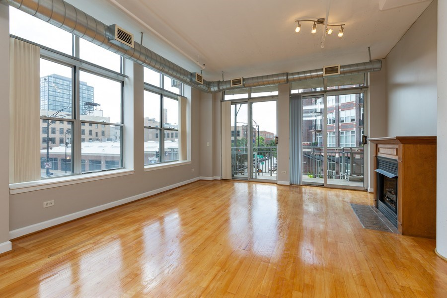 Real Estate Photography - 111 S Morgan, Chicago, IL, 60607 - Living Room
