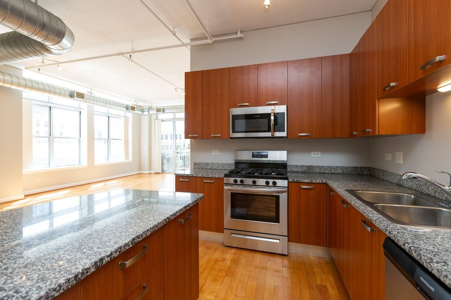 Real Estate Photography - 111 S Morgan, Chicago, IL, 60607 - Kitchen