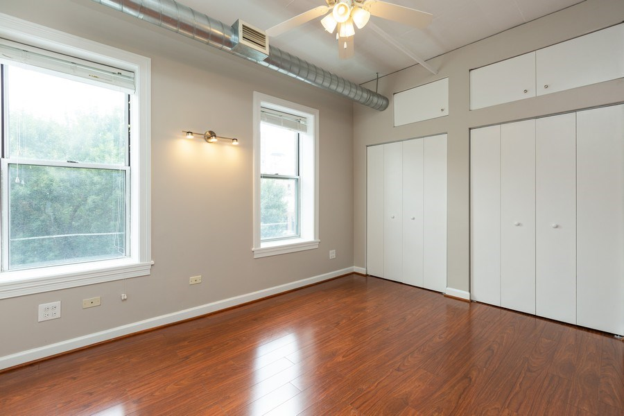 Real Estate Photography - 111 S Morgan, Chicago, IL, 60607 - Master Bedroom