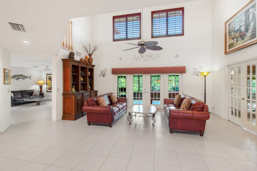 Real Estate Photography - 23102 Lermitage Circle, Boca Raton, FL, 33433 - Living Room