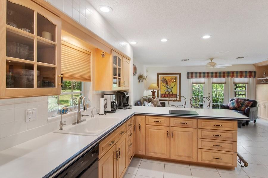 Real Estate Photography - 23102 Lermitage Circle, Boca Raton, FL, 33433 - Kitchen