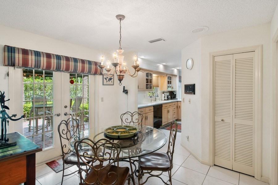 Real Estate Photography - 23102 Lermitage Circle, Boca Raton, FL, 33433 - Breakfast Area