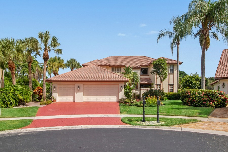 Real Estate Photography - 23102 Lermitage Circle, Boca Raton, FL, 33433 - Front View
