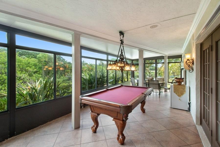 Real Estate Photography - 23102 Lermitage Circle, Boca Raton, FL, 33433 - Lanai